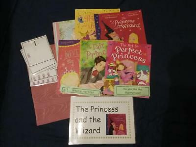 The Princess and the Wizard by Julia Donaldson Story, Resources, Books and Sack
