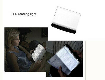 Portable LED Read Panel Light Book Reading Lamp Night Vision For Premium Travel