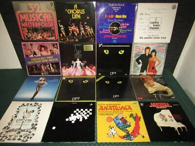 Schallplatten-Sammlung, Vinyl Collection: Musical, Musicals - 57 LP's