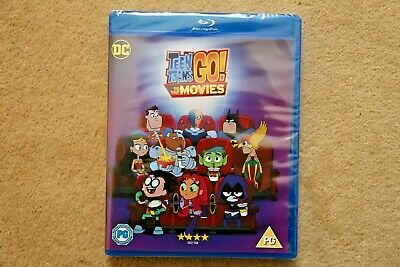 Blu-Ray   Teen Titans Go! To The Movies           Brand New Sealed Uk Stock