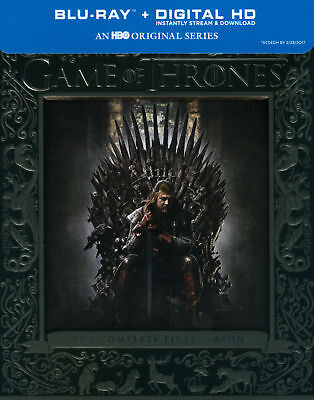 Game of Thrones The Complete First 1st 1 Season (Blu-ray Disc, 2014, 5-Disc Set)