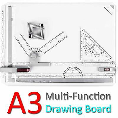 ONDY Drafting Board Portable A3 Drawing Board Multi-Function Drafting Table