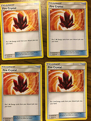 Pokemon TCG SM Unbroken Bonds Fire Crystal 173//214