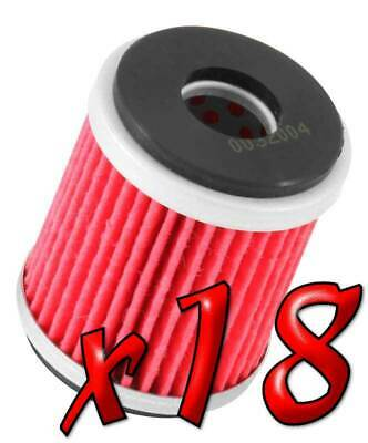18 Pack: Oil Filters Pro Powersports Cartridge KN. - For MBK, Yamaha Scooter