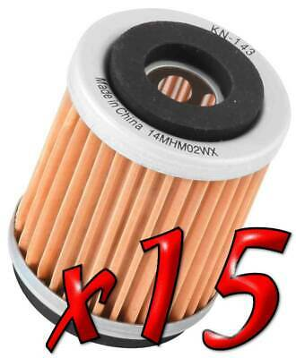 15 Pack: Oil Filters Pro Series Powersports Cartridge K&N - For Yamaha Scooter