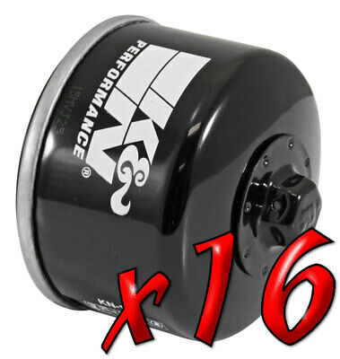 16 Pack: Oil Filters Pro Powersports Canister - For , , , Piaggio Scooter