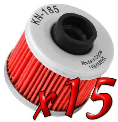 15 Pack: Oil Filters Pro Powersports Cartridge - For , BMW, Peugeot Scooter