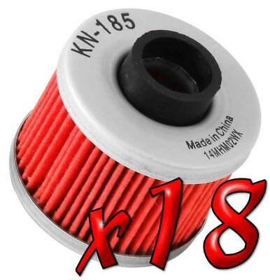 18 Pack: Oil Filters Pro Powersports Cartridge - For , BMW, Peugeot Scooter