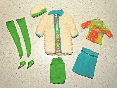 Barbie:  Francie VINTAGE Complete THE COMBINATION Outfit!