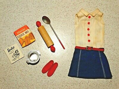 Barbie:  Skipper VINTAGE Complete COOKIE TIME Outfit!