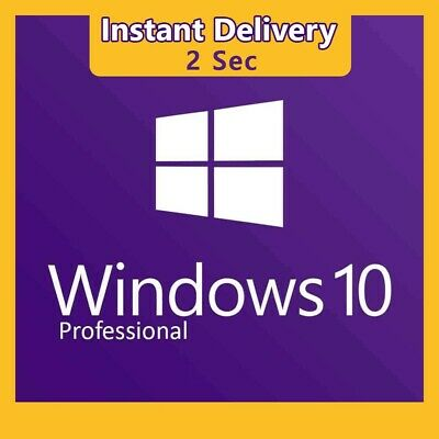 Windows 10 Pro Professional 32/ 64bit Genuine License Key - Upgrade Home to Pro