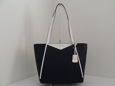 b989b068a2 Nwt Authentic Michael Kors Whitney Small Top Zip Pebble Leather Tote-$248
