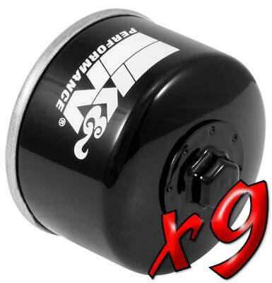9 Pack: Oil Filters Pro Powersports Canister KN. - For Kymco, Yamaha Scooter