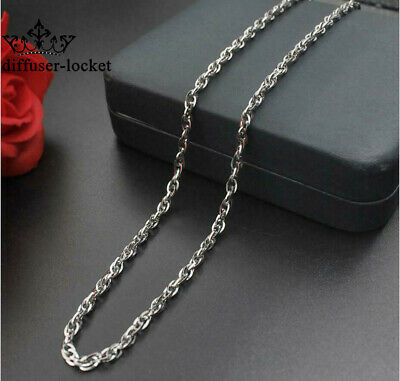 Fashion Cross Double Button Chain Necklace 316L Stainless Steel  Men Women Gift