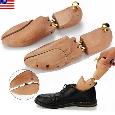 Cedar Wood Sneaker Leather Shoe Tree Spring Loaded Shoe Tree Stretcher Shaper US