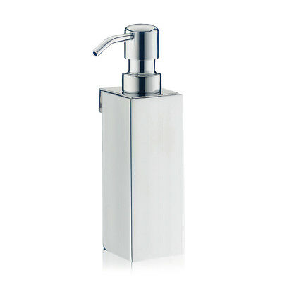 Design Wall Soap Dispenser Stainless Steel Doser Bath Wall Holder Square Square
