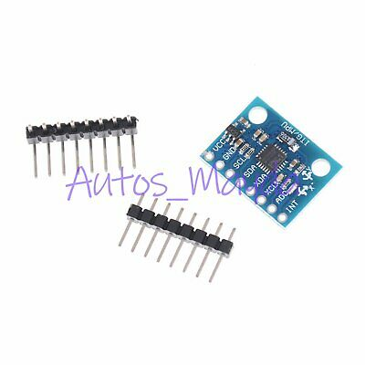 1pc GY521 MPU-6050 6DOF 3 Axis Gyroscope+Accelerometer Module for Arduino DIY