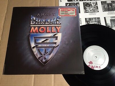 Chrome Molly - Angst - Lp - Holland 1988 - Ois / Sticker