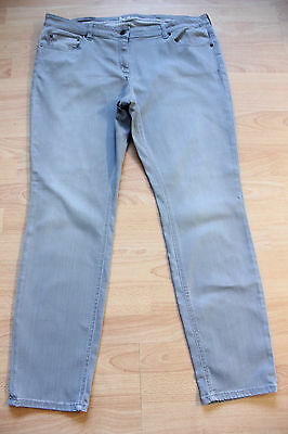 BODEN  light grey denim skinny   jeans size 8R WC170  great condition