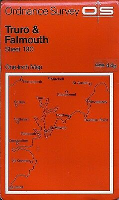 Ordnance Survey Map No.190 TRURO, FALMOUTH - 1961
