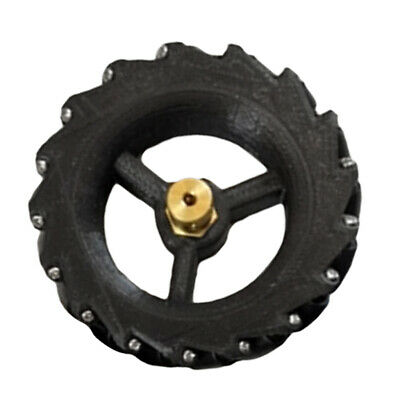 Omni Wheel Mecanum Wheels with Coupling Equipped 3/4/5/6/7mm black