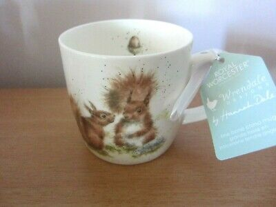 Wrendale Between Friends (Squirrels) Mug - New With Label