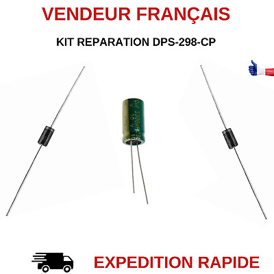 Kit Reparation Dps-298-Cp-2A / Dps-298-Cp-4A Alimentation Tv Philips Sr260