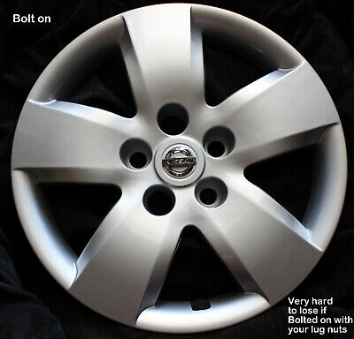New 1 Replacement Hubcap Fits Nissan Altima 2007 2008 16 Bolt on Wheel cover 437