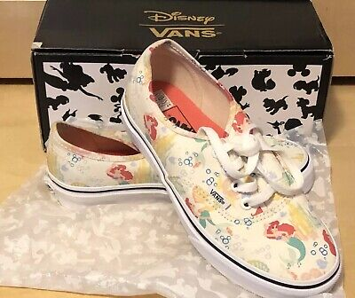 6e35c707cc1f Vans Disney Princess Ariel The Little Mermaid Women s Size 5.5 Authentic  RARE