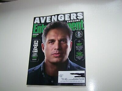 Entertainment Weekly magazine April 2019-AVENGERS end game cover 5-Dr. Banner