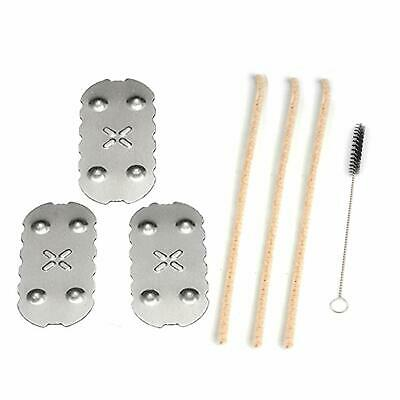 3Pcs Compatible For PAX 2 / 3 Replacement Oven Screens w/ Cleaning Brush & Tools