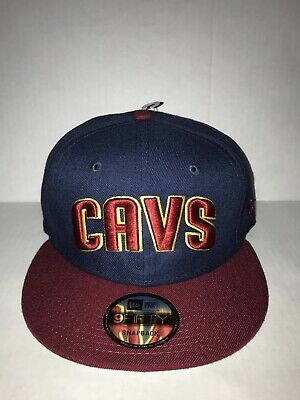 the best attitude 6a567 660bc Cleveland Cavaliers Cavs New Era 9Fifty 2 Tone Snapback Men Fit Cap Hat