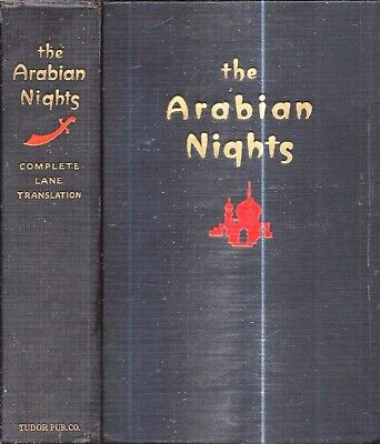 1927 Arabian Nights Illustrated Lane Translation Complete Sinbad Bird Maiden