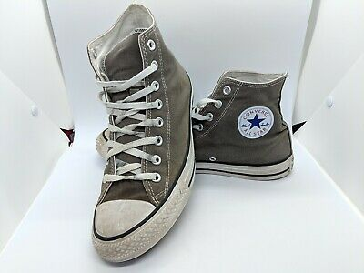 0db62c167800 Mens Converse Chuck Taylor All-Star Size 9 Grey Good Condition Vintage Style