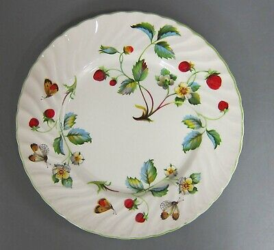 Kuchenteller 20 cm Teller James Kent Dekor Strawberry Old Foley Erdbeere