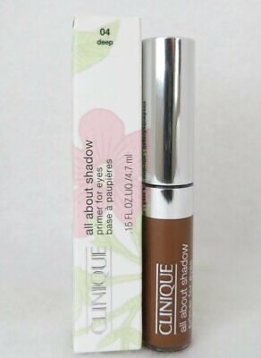 CLINIQUE All About Shadow Primer For Eyes 4.7ml - 04 Deep *BOXED*