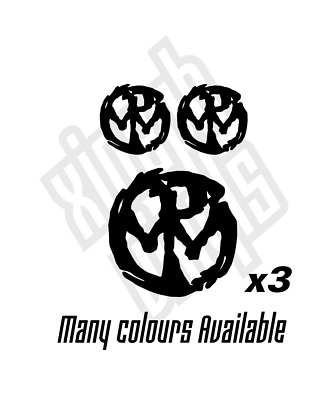 2 PENNYWISE BAND DECALs Stickers Bogo For Car Truck Window Bumper Laptop