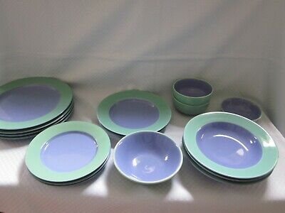 Lindt Stymeist Colorways Green-Blue Dinnerware CHOICE