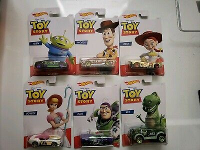 Hot Wheels 2019  Disney Toy Story 4 Complete Set of 6  Walmart Exclusive  HTF