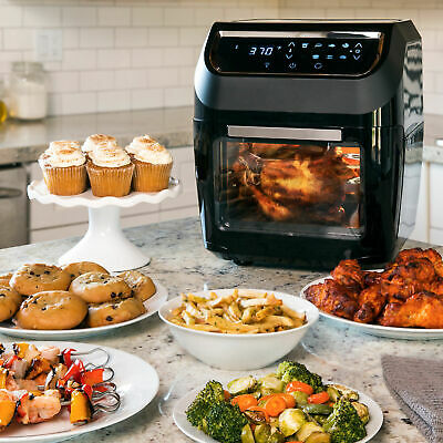 New Oven 8-in-1 Digital Air Fryer for Healthy cooking set XL Dehydrator