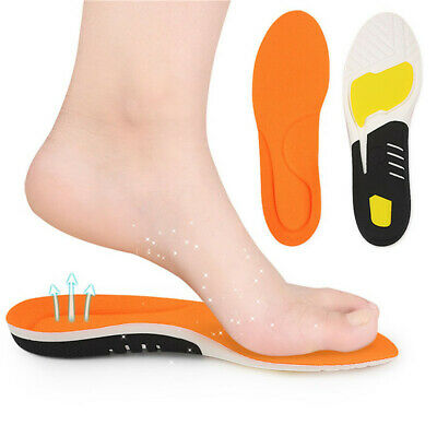 Foot Arch Support Orthopedic Pads Correctional Foot Care Orthopedic Insoles LG