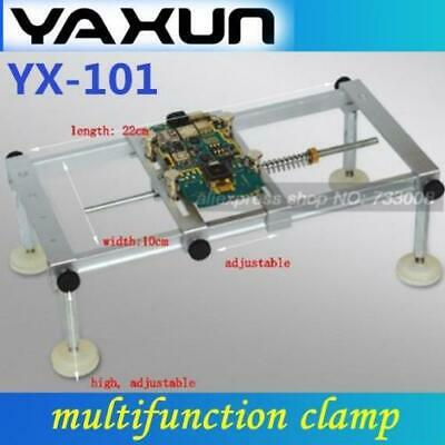 YAXUN YX101 multifunction clamp for hold PCB universal PCB Stand Free shipping