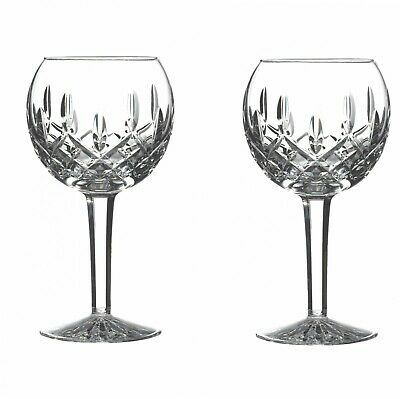 Waterford Lismore Balloon Wine Glass, 8-Ounce, Set of Two