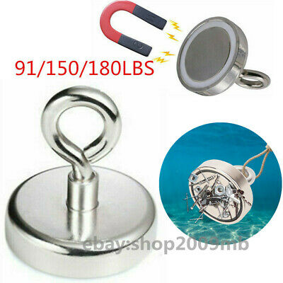 Strong Neodymium magnet super powerful search hook power magnetic fishing holder