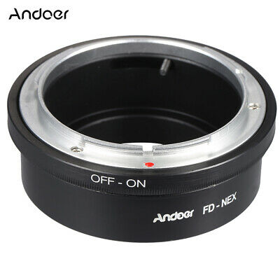 Lens Adapter Ring for Canon FD to  E Mount NEX 3 5 6 A7 A7R a6000 a5100 E2X7