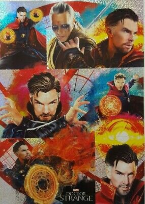 Marvel's DOCTOR STRANGE Trading Card Set of 125 Panini UK Edition Dr Strange