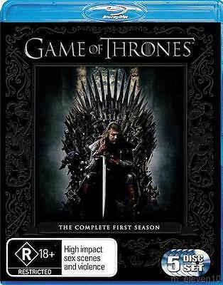 GAME OF THRONES SEASON 1 : NEW Blu-Ray