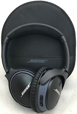 Bose SoundLink Around-Ear AE II Headband Wireless Headphones -Black/Blue (49-1A)