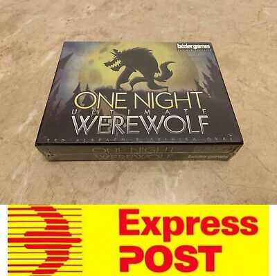 One Night Ultimate Werewolf, Fantastis Party Board Game, AU Stock, Express Post