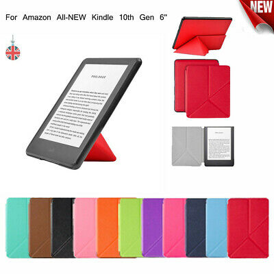 For Amazon All-NEW Kindle 10th Gen (2019) 6'' Slim Smart Leather Flip Case Cover